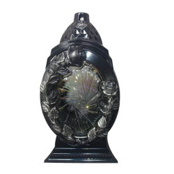 ZNICZ / Lampion róża kryształ / mix/ 1 SZTUKA