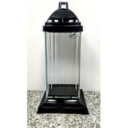 lampion 4D / duży  / czarny/  1 sztuka