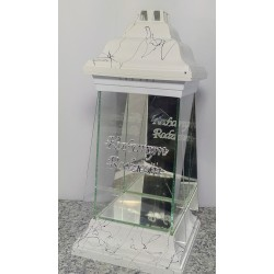 latarnia verona ls-11 biała nitka czarna /sukienka /...