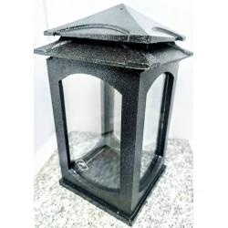 LAMPION L3 / MIX / ŻYWICA/ gładki / srebrny / sztuka