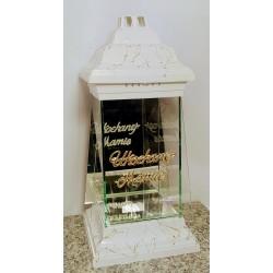 latarnia verona ls-11 biała nitka złota /sukienka / mała/...