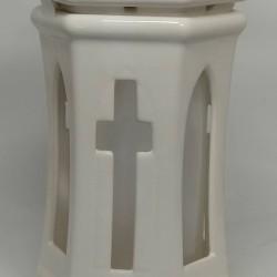 Znicz porcelana ZC 5AB biała