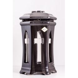 Znicz porcelana ZC5A czarna metaliczna