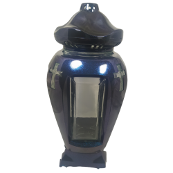 ZNICZ  LAMPION FLARIS-2/ KAMELEON- NIEBIESKI/ 1 SZTUKA